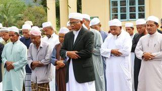 ผู้นำมุสลิมจ.สตูล ร่วมกิจกรรมเมาลิดดินนบีฯ ละหมาดฮายัตยุติความรุนแรงชาวโรฮิงยา