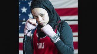 วัยรุ่นมุสลิมมินนิโซตาสวมใส่ฮิญาบชนะการแข่งขันชกมวย USA Boxing