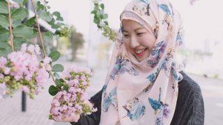 ARISA MARYAM มุสลิมใหม่ชาวญี่ปุ่น ผู้พกพาภาพลักษณ์อิสลามทุกครั้งที่ออกเดินทาง