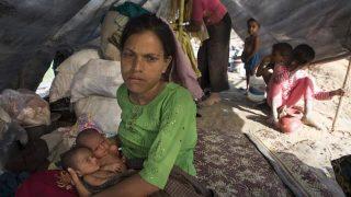 รวมภาพชาวโรฮิงญามุสลิมหนีความรุนแรงจากรัฐยะไข่ เมียนม่าร์