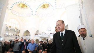 ประธานาธิบดีตุรกีเปิดมัสยิดแนวสถาปัตยกรรมผสมผสาน จุ 7,000 คนในแองการ่า