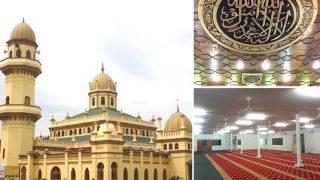 สวย! มัสยิดสุลต่าน อาลาดิน (Masjid Sultan Alaeddin) ในเมืองสลังงอร์ ประเทศมาเลเซีย