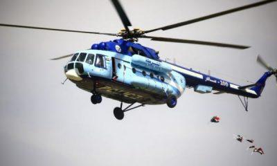 ฮ.ซูดานระเบิดหลังชนหอส่งสัญญาณ ผู้ว่าฯ-รัฐมนตรีดับ