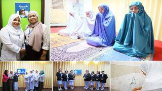 """รพ.ราชวิถี เปิดให้บริการ """"ห้องละหมาด"""" อำนวยความสะดวกแก่เจ้าหน้าที่และผู้มารับบริการชาวมุสลิม"""