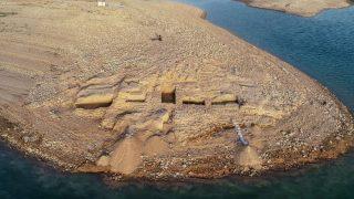 ซากอารยธรรมโบราณที่สาบสูญไป 3,400 ปี ผุดขึ้นกลางแม่น้ำในอิรัก