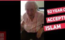 หญิงคริสเตียนอายุ 92 ปีเปลี่ยนมานับถือศาสนาอิสลาม